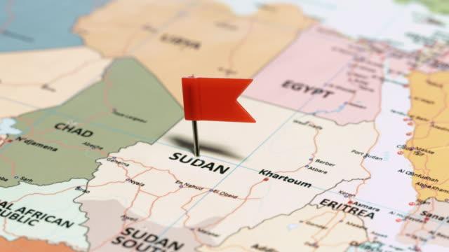 Sudan with pin