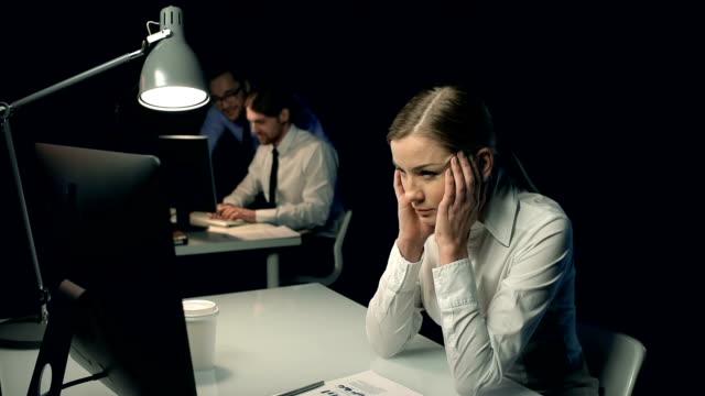 Suffering from Overwork video