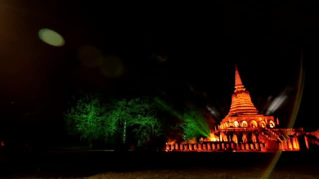 Sukhothai historical park Thailand video