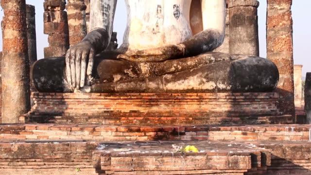 sukhothai tilt up shot:Sukhothai historical park, World Heritage in thailand.Full HD - Stock Video sukhothai stock videos & royalty-free footage