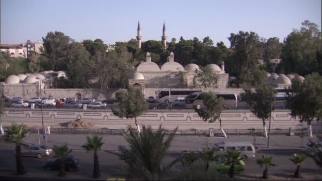 Suleymaniye Complex/Aleppo,Syria 09/30/92015 Views of Suleymaniye' Complex in Syria before Syrian civil war. Aleppo/Syria 09/30/2015 anticipation stock videos & royalty-free footage