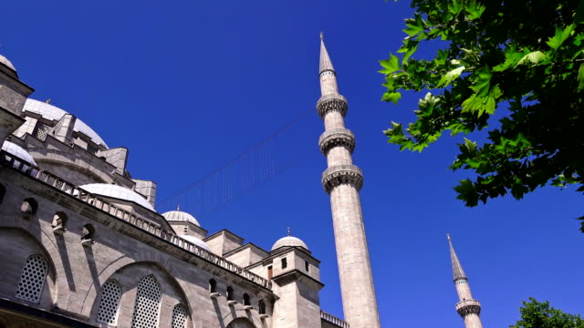 Suleymaniye Mosque in Istanbul, Turkey - video