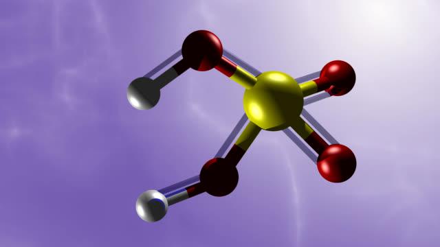 Sulfuric acid molekule video