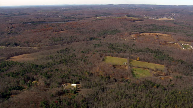 Sullivan Correctional Facility  - Aerial View - New York,  Sullivan County,  United States video