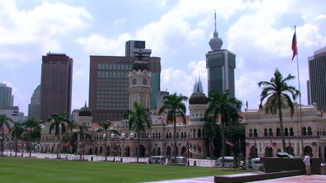 Sultan Abdul Samad Building - Kuala Lumpur, Malaysia video