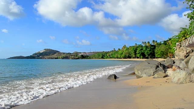 summer beach scene summer beach scene turks and caicos islands stock videos & royalty-free footage