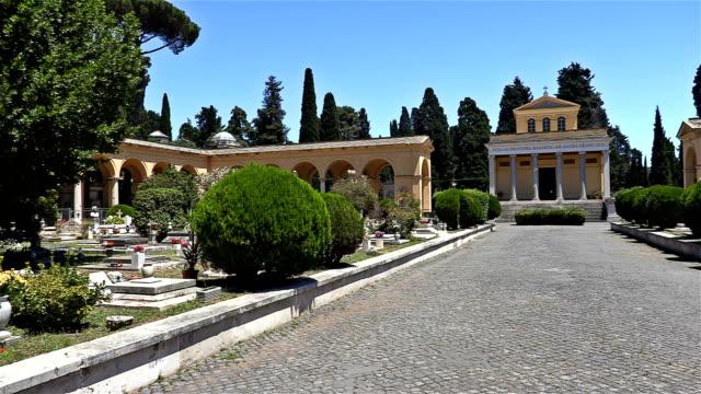 Summer cemetery, Rome - Italy