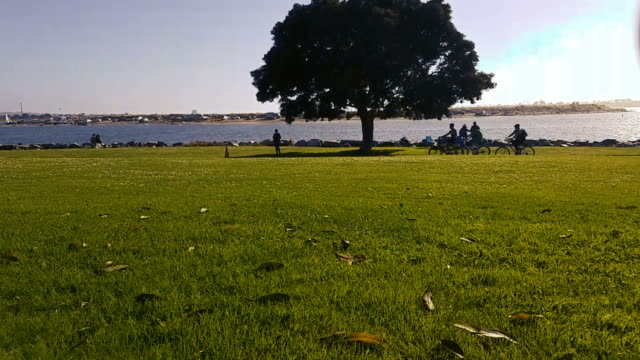 Summer Day Timelapse of Mission Bay video