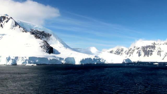 夏で南極大陸 ビデオ