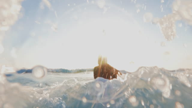 Summer is here: surfer girls in action video