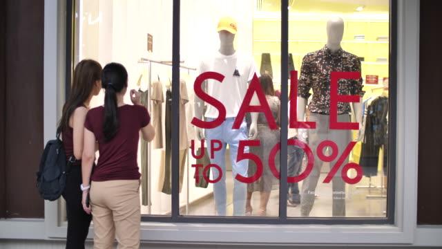 stockvideo's en b-roll-footage met zomer sale - discountwinkel