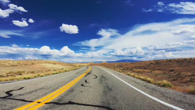 Summer vacations in USA outdoors: driving the highways of great South West