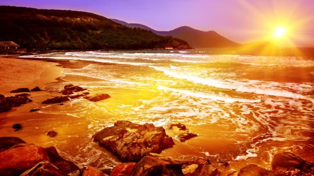 Sun and beach video