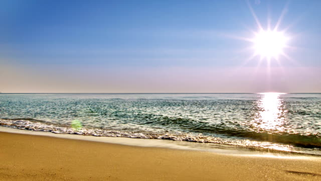 Sun and sea Nature background summer background stock videos & royalty-free footage