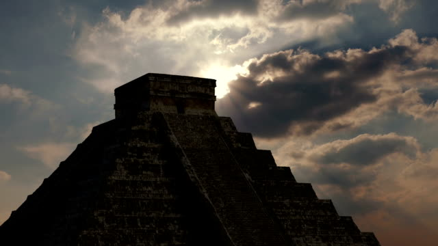 Sun Comes Out Above Aztec Ruins video
