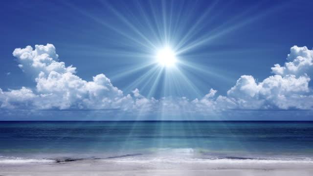 Sun over the Sea video