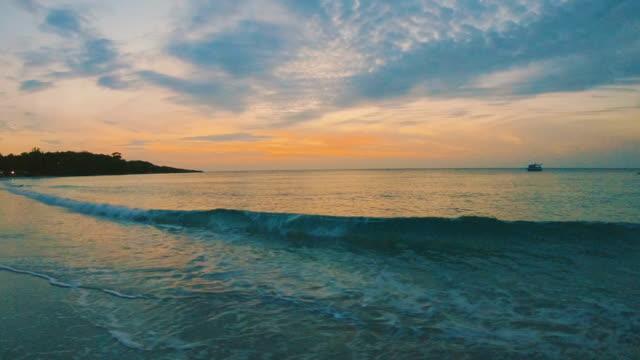 sun rise beach video