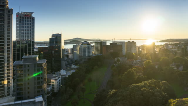 Sun Rising Over Auckland - Time Lapse video