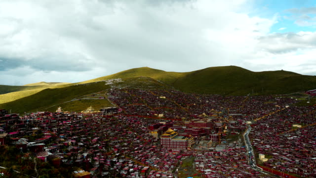 Sun shines across the world's largest buddhist college