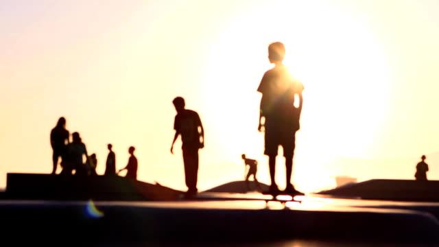 Sol monopatín foco suave - vídeo