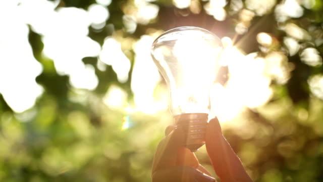 Sun through the bulb video