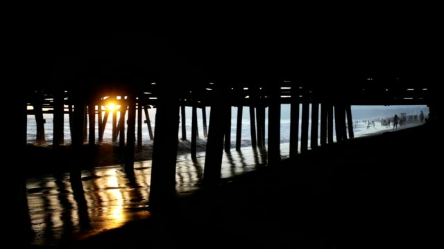 Sun Under the Pier video