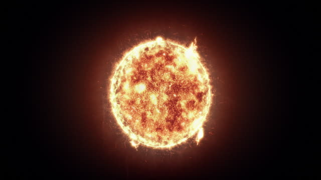 Sun Sun with Solar Flares animation big bang stock videos & royalty-free footage