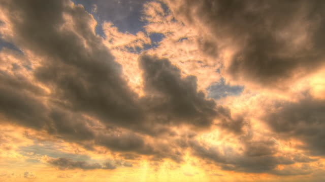 Sunbeam and Clouds motion video