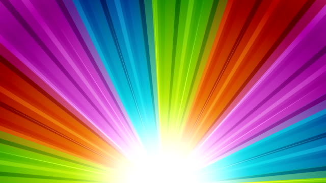 Sunburst Rainbow Rays Retro sunburst backgrounds animations suited for broadcast, commercials and presentations. They can be used also in Celebration, Party and Birthday or New Year animations. {{relatedSearchUrl(carousel.phrase)}} stock videos & royalty-free footage