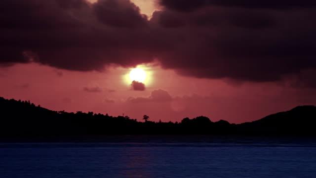 Sundown on the island video