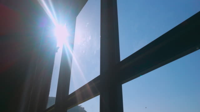Sunlight And Flare From Windows Video of sunlight and flare from windows. Shot by smart phone. 4K brightly lit stock videos & royalty-free footage