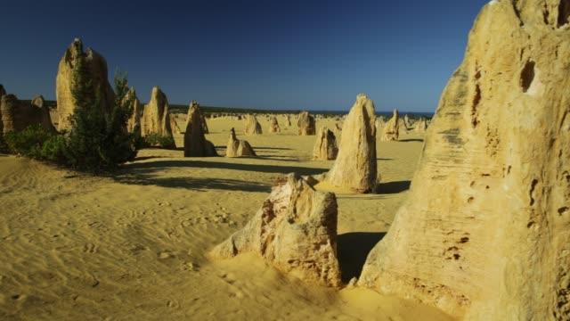 sunlight of Pinnacles Desert video