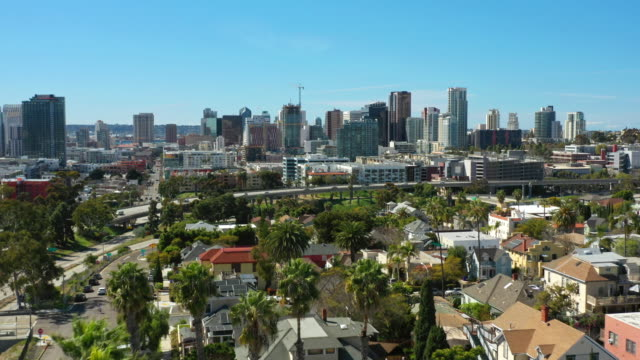Sunny San Diego Aerial View