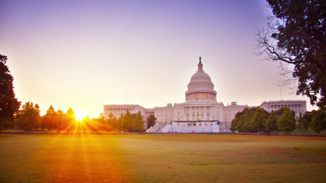 Sunrise and United States Capitol