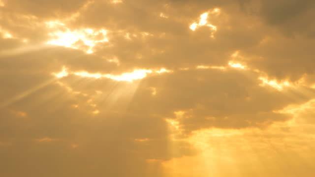Sunrise at Cloud Time Lapse 4K video