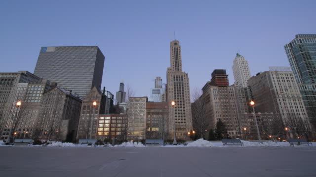 Sunrise Chicago. HQ 1080P 4:4:4 RGB video