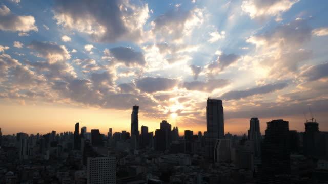 Sunrise 、バンコク、タイ ビデオ