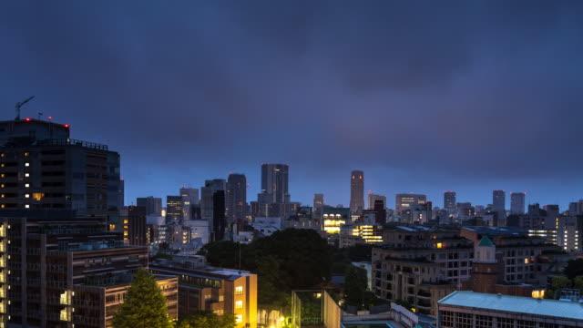 時間の経過、東京 - 原宿日の出 - 夜明け点の映像素材/bロール