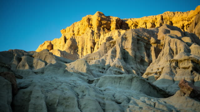 sunrise in red rock canyon state park - time lapse - parco statale del red rock canyon video stock e b–roll