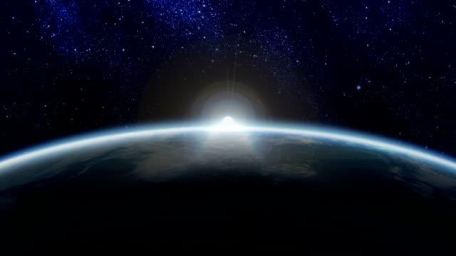 Sunrise in Space video