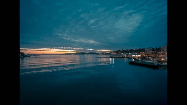 Lapso de tempo do nascer do sol de Istambul - vídeo