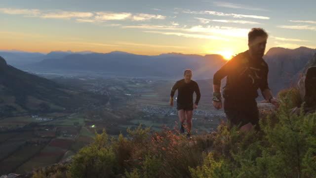 Sunrise Mountain Runners running up