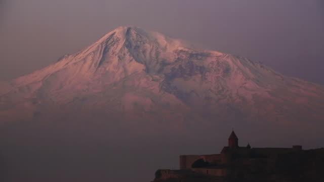 Sunrise on Ararat Mountain