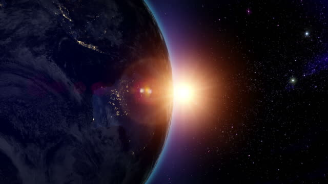 Sunrise over Australia video