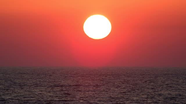 Sunrise over the Atlantic Ocean video