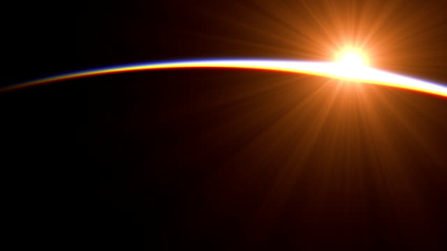 Sunrise Over The Earth. Amazing View Of Planet Earth From Space. video
