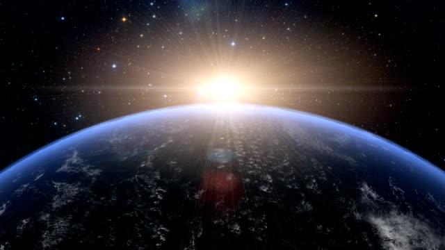 Sunrise over U.S.A video