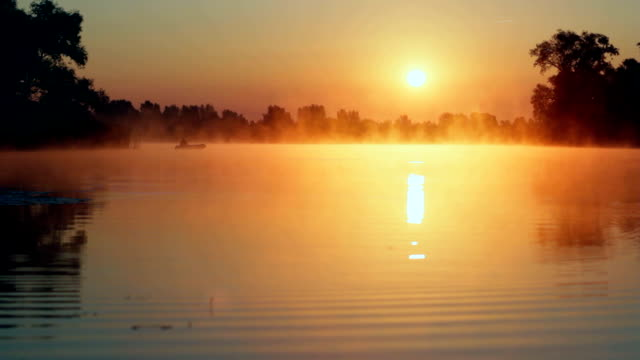 sunrise - lakes stock videos and b-roll footage