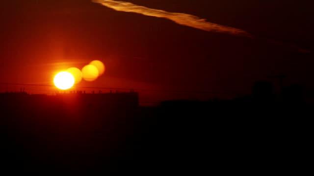 Sunrise Sunrise over the city daylight savings stock videos & royalty-free footage
