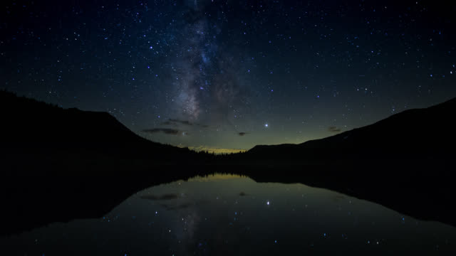 Sunset and Starry Night at Highland Lakes - Time Lapse video